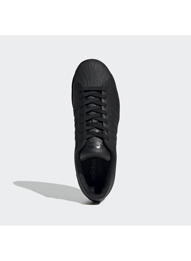 adidas Erkek Superstar Sneakers EG4957 Siyah